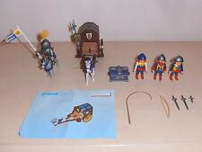 Playmobil. 3314 Caballeros Carro del tesoro Juego. Excelente Set Vintage. completa.