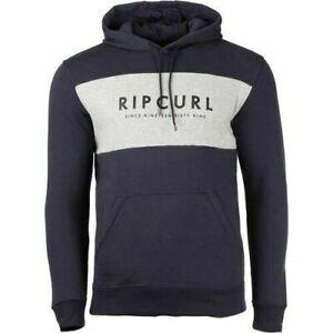 Special Rip Curl Mens Original Surfer Mens Hoodie Fleece Pullover Sweatshirt S-L