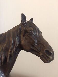 🦋napoleonIII,sculpture Bronze,animalier,cheval,signé Pj Méne