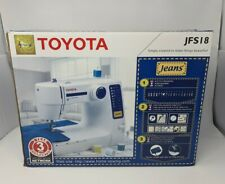 Toyota Sewing Machine - RS series - Model JFS18 SERIE A HY 100963 Boxed