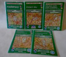 Czech Tourist Club Hiking Maps Lot 5 Europe City Country Hikes Walking Trails
