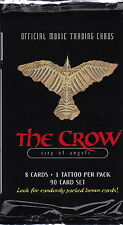 THE CROW: City of Angels - Official Movie Trading Card Packs (12) #NEW