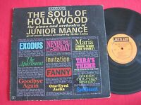 RARE JAZZ LP - THE SOUL OF HOLLYWOOD - JUNIOR MANCE - JAZZLAND 63 OIRG DG  MONO