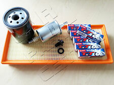 FOR JAGUAR X TYPE 2.0 2.5 3.0 V6 AJ ENGINE AIR OIL FUEL FILTER KIT 6 SPARK PLUGS