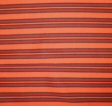 DONGHIA Baja Stripe Sunbrella Orange In/Outdoor Arcylic woven New 3 yards+