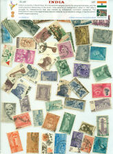 India (50Different Large)-STAMP PACKET