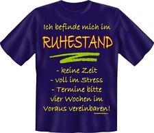 T-Shirt Fun Rente  Ruhestand 3XL / XXXL