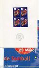 FRANCE 98, DOCUMENT FOOTBALL 1° JOUR , COUPE DU MONDE, PARIS, timbre 3077