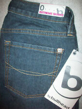 BULLHEAD EXTREME SKINNY STRETCH JUNIORS Denim JEANS SIZE 0 x 27.5  NEW