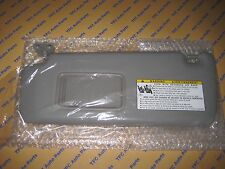 Toyota Highlander 2004-2007 Driver Side Sun Visor Without Vanity Lamp Gray  OEM 8663a9b558a