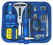 EZTool Watch Repair Kit with 16 Tools and 41-Page Illustrated Maintenance & S...