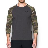 Under Armour Apparel Mens Armor Ridge Reaper 3/4 sleeve T-Shirt- Pick SZ/Color.