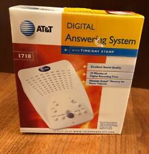 AT&T Digital Answering Machine BRAND NEW Model #1718 White