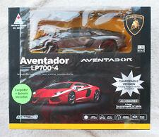LAMBORGHINI AVENTADOR LP700-4, Chargeable Version 1:18. Very RARE BOX, BRAND NEW