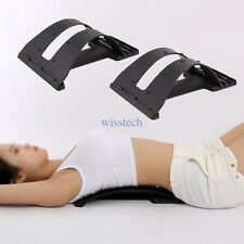 Magic Back Support Stretcher Lower Lumbar Massage Spine Pain Relief Acupuncture