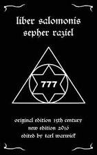 Liber Salomonis Sepher Raziel King Solomon Occult Seal Her,etic Angel Spirits 7