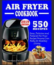550 AIR FRYER RECIPES COOKBOOK – Easy, Delicious & Foolproof - {.PDF.} -  2020