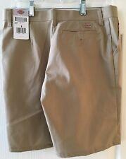 Dickies Women's Twill Khaki Shorts size 8 New   w Tags