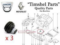 3x Halterung Motoraufhängung Motorabdeckung Renault Clio Megane Scenic  1.5 1.9