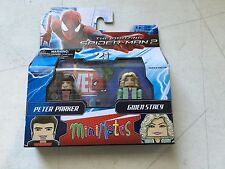 Diamond Select Toys Marvel Minimates Amazing Spider-Man Peter Parker Gwen Stacy