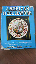 American Needlework Book by Georgiana Brown Harbeson 1938