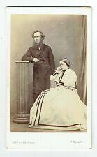Victorian cdv photo couple man standing Finchley London photographer