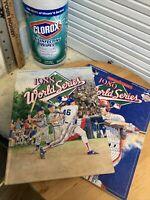 1988 & 1989 World Series Program Oakland A's Vs Dodgers & S.F. Giants Earthquake