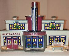 """New ListingDepartment 56 """"Reindeer Bus Station� #54874 Retired Snow Village Collection"""