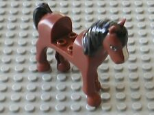 Cheval LEGO FRIENDS Minifig RedBrown HORSE 93083c01pb03 / Set 41057 3189 3185