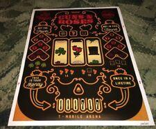 Guns and Roses Las Vegas, Nevada Nov 17 2017 Slot Machine #xxx/300 Poster