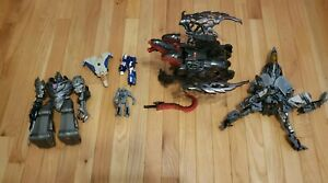 LOT OF VINTAGE ?  TRANSFORMERS JET AIRPLANE DRAGON