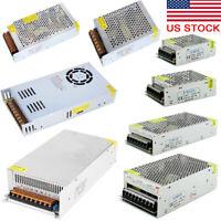 AC 110V TO DC 12V 24V 2A 5A 10A 15A 20A 40A 60A Switch Power Supply Adapter
