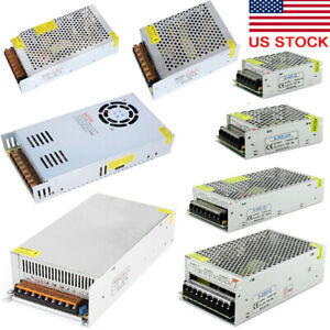 AC 110V TO DC 12V 24V 2A 5A 10A 15A 20A 40A 60A Switch Power Supply Adapter