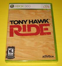 Tony Hawk Ride Xbox 360 Factory Sealed! FREE SHIPPING!! NO SKATEBOARD!