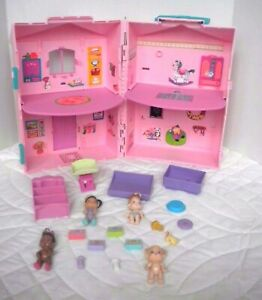 Vintage 90's Kenner Baby Buddies Doll House Nursery Accessories Babies Toy 1994