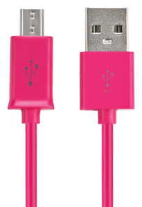 10x Micro-USB Ladekabel für samsung Galaxy S5 S6 S7 S7 Edge HTC Huawei pink