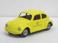 """VW Käfer gelb """"Deutsche Post"""", o.OVP, CKO Kellermann, ca. 11 cm, Blech, Friktion"""