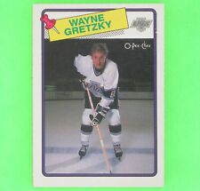 WAYNE GRETZKY  1988-89  1st. CARD IN KINGS UNIFORM  OPC #120   Los Angeles Kings