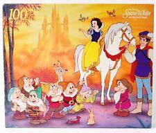 Vtg 80's Puzzle Snow White and the seven dwarfs Disney movie classic 100pcs NEW