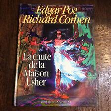 LA CHUTE DE LA MAISON USHER - CORBEN - EDITION ORIGINALE