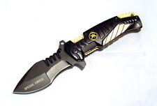 Special Forces Taschenmesser Semper Fidelis Airborne Spezialeinheit Pocket Knife