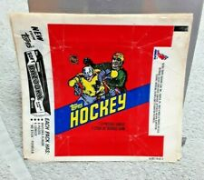 1981/82 Topps Hockey Wax Pack Wrapper Vintage NHL