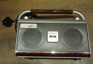 ROBERTS GEMINI RD-27 AM/FM RDS/DAB DIGITAL RADIO WITH REWIND & PAUSE PLUS WORKS