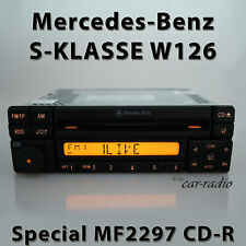 Original Mercedes Special MF2297 Cd-R W126 Car Radio S-CLASS V126 C126 1-DIN