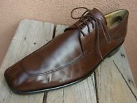 MEZLAN Mens Dress Shoes Rich Mahogany Brown Lace Up OxfordS Comfortable Sz 10.5M