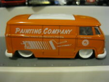 Jada Toys 62 Volkswagen Bus RARE Painting Co. from Service 4 Car Set 1/64 VHTF