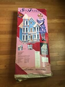 Vintage San Franciscan Doll House Dura-Craft NIP