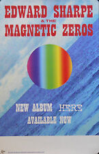 EDWARD SHARPE & THE MAGNETIC ZEROES, HERE POSTER (L11)