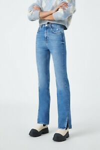 Pull&bear High waist jeans with seam detail Size 10 BNWT RRP £20