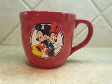 Hallmark Cards Disney Mickey and Mini Mouse Coffee Mug Cup Red - 14 oz
